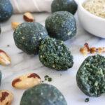 Seed & Nut Spirulina Bites