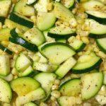 Summer Garden Series: Parmesan Zucchini & Corn