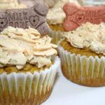 Pumpkin Peanut Butter Pupcakes