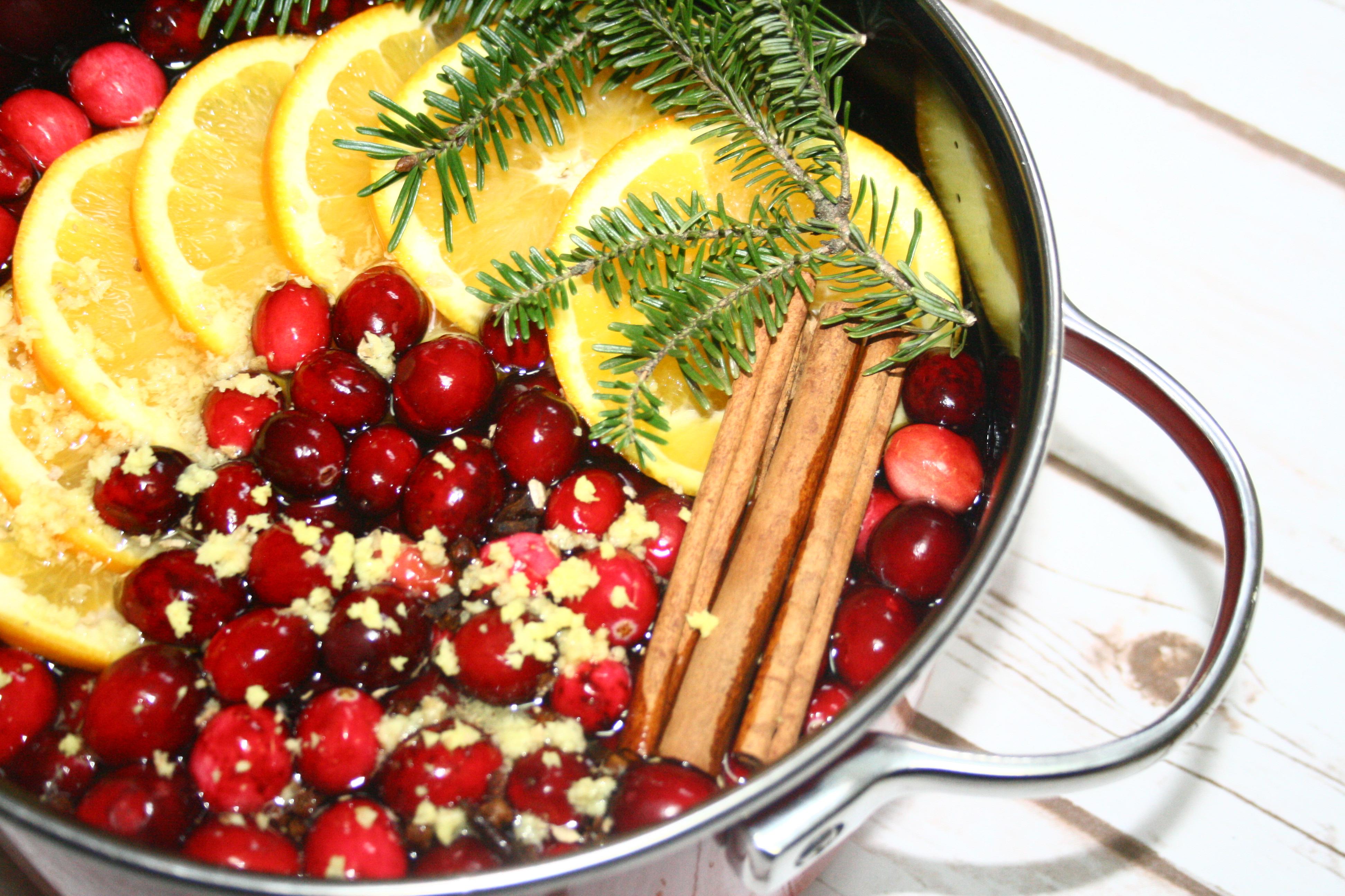 Stovetop Christmas Potpourri