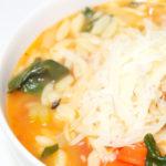 Italian Spinach & Orzo Soup