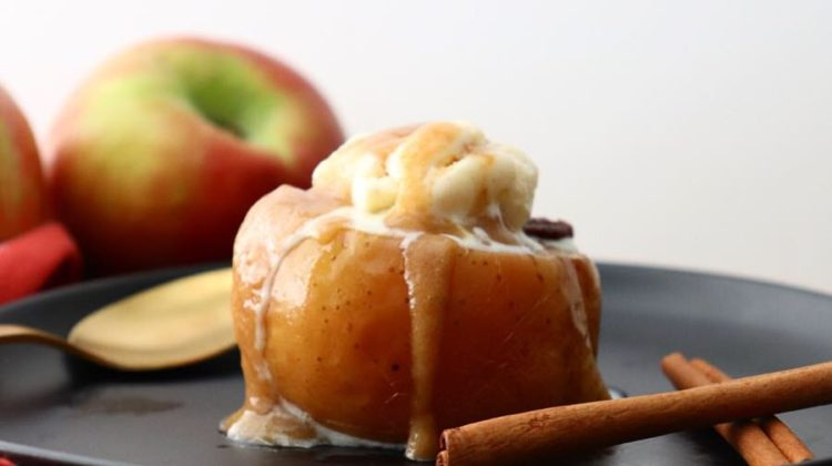 Slow Cooker Stuffed Apples
