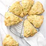Zucchini Parmesan Scones