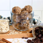Oatmeal Raisin Energy Bites