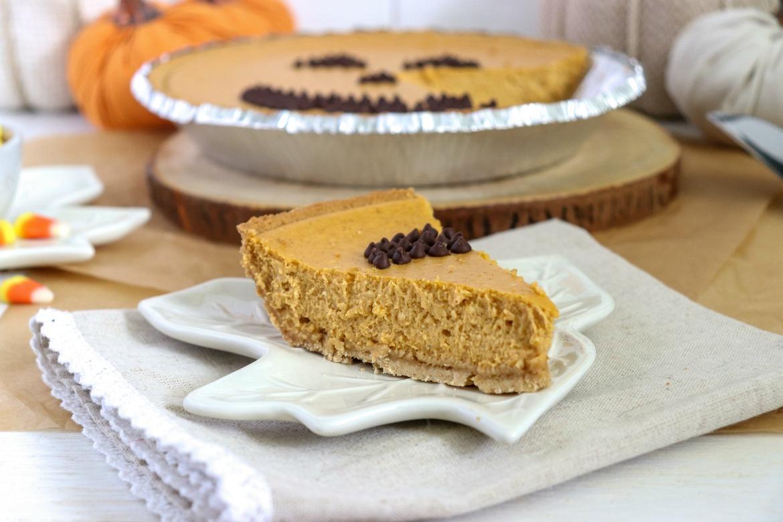 3-Step Maple Pumpkin Cheesecake