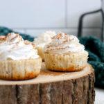 3-Step Mini Eggnog Cheesecakes