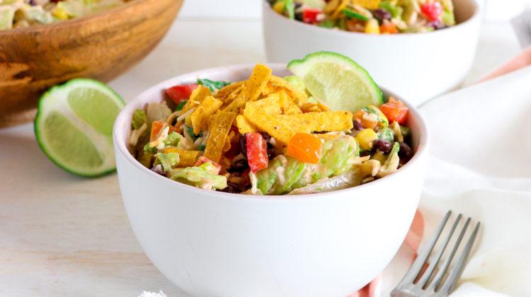 Easy (Meatless) Taco Salad