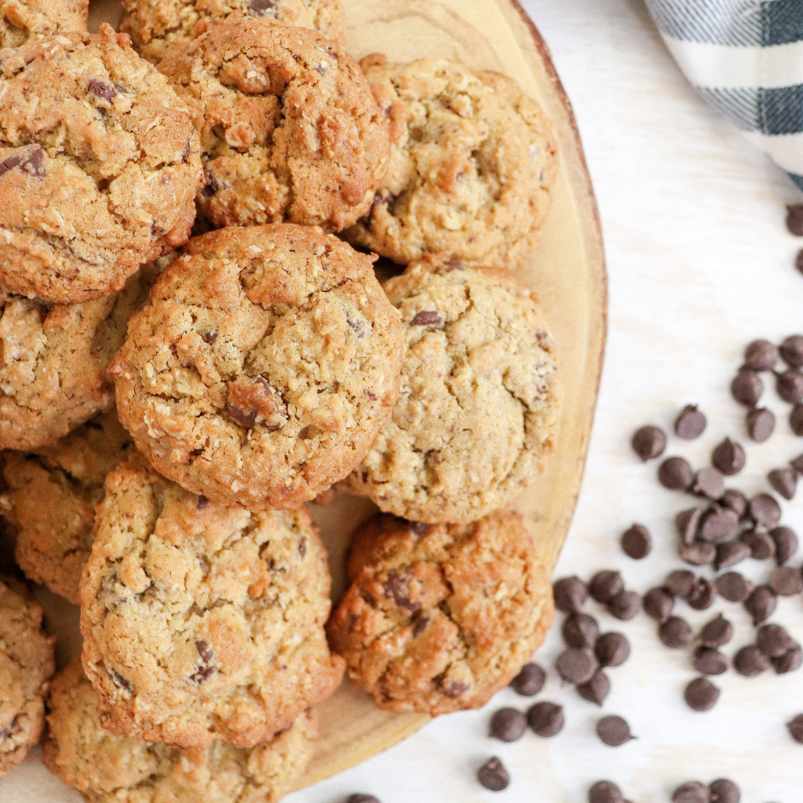Oat Chocolate Chip Lactation Cookies