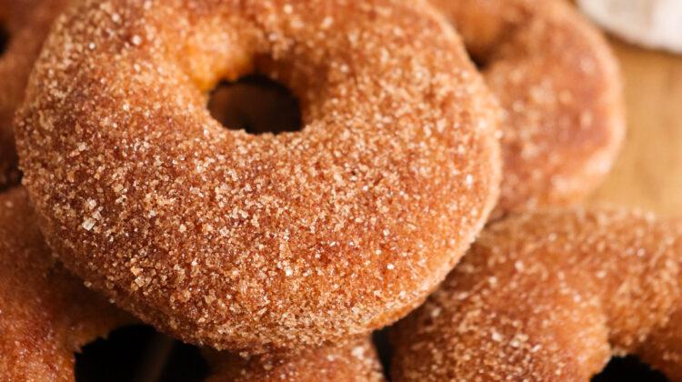 Baked Cinnamon Pumpkin Donuts