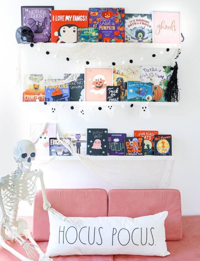 Emerson's Halloween Book Nook